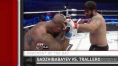 nice Knockout of the Day: Zaur Gadzhibabayev Drops David Trallero at M-1 Difficulty 59