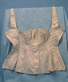 2 Handsewn Corsets, 1820-1830 Session 2 - Lot 330 - $600.00
