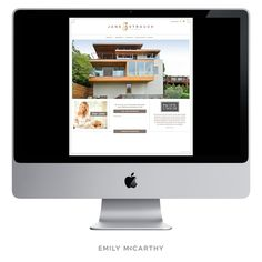 Emily McCarthy Branding | Jane Strauch Custom Website Design