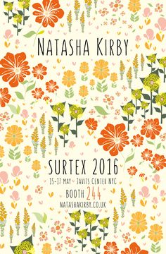 I will be exhibiting in booth 244 with Dot and Flow. If you would like to view more of my work please visit my website natashakirby.co.uk.