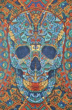 Skull Mosaic