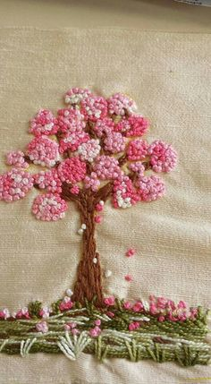 bordado a mano Archives - My WordPress Website French Knot Embroidery, Hand Embroidery Stitches, Silk Ribbon Embroidery, Crewel Embroidery, Hand Embroidery Designs, Cross Stitch Embroidery, Bordado Floral, Brazilian Embroidery, French Knots