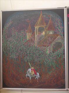 Doornroosje Chalkboard Drawings, Paintings, Art, Art Background, Paint, Painting Art, Kunst, Performing Arts, Painting