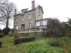 House for sale in Loudéac, France : Detached stone and slate character qm), situated in a village, in . French Property, Detached House, Slate, France, Mansions, House Styles, Character, Home Decor, Chalkboard