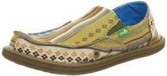 Sanuk Donna Slip-On (Little Kid/Big Kid) Sanuk. $40.00. Rubber sole. 100% Canvas