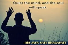 Why meditate? Find out here http://spiritualquestadventures.com/blog/quiet-mind-soul-will-speak/
