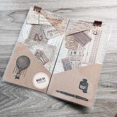 DIY - Folder for your Travlers Notebook