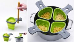 Pasta cooking baskets