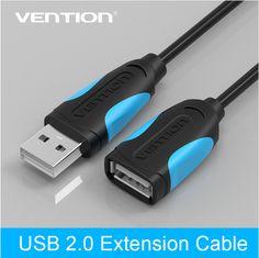Vention usb 2.0 männlich zu weiblich usb kabel verlängern verlängerungskabel kabel extender für pc laptop