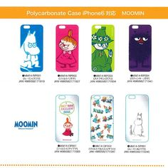 SmartZakka: Product made in Mumin eyephone 6 jacket / cover polycarbonate Moomin, Iphone 6, Global Market, Studio Ghibli, Cover, Marketing, Street, Day, How To Make