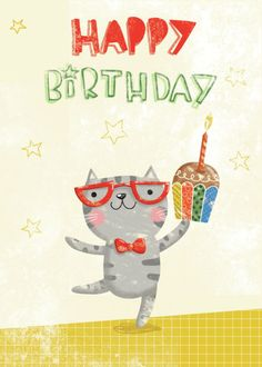 Gina Lorena Maldonado - Cats_Happy Birthday_GM