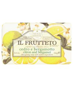 Nesti Dante Il Frutteto Citron and Bergamot Soap Natural Antidepressant, Luxury Soap, Earl Grey Tea, Hand Care, Liquid Soap, Bergamot, Shower Gel, Soap Making, Beauty And The Beast