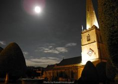 Painswick by moonlight