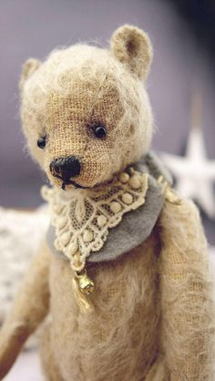 Indie 6 PDF kunstenaar teddybeer patroon door door aerlinnbears