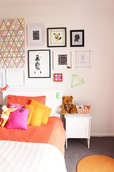 Gallery Wall - Bedroom Styling