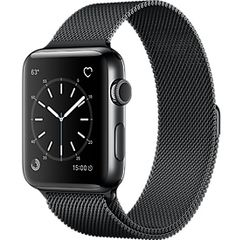 Apple Watch Series 3 (Gps + Cellular) Space Black Stainless Steel Case with  Space Black Milanese Loop d69ebbb968