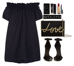 """""""Pretty Box Clutch"""" by mycherryblossom ❤ liked on Polyvore featuring Lanvin, Clu, Isabel Marant, Cleanse by Lauren Napier, Yves Saint Laurent, Chanel, Marc Jacobs, women's clothing, women's fashion and women"""