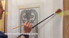 Trompe-l'oeil Part 3 - Moulures et ornements peints en trompe-l'oeil