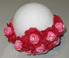 How to assemble a Lollipop Bouquet