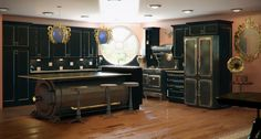 steam punk kitchen