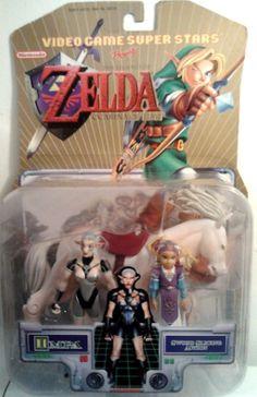 THE Legend OF Zelda Ocarina Time Impa Action Figure