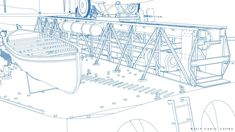 ArtStation - HMS RODNEY, Carlo Cestra Model Warships, Paper Models, Royal Navy, Battleship, Wwii, Drawings, Artwork, Architecture, Ships