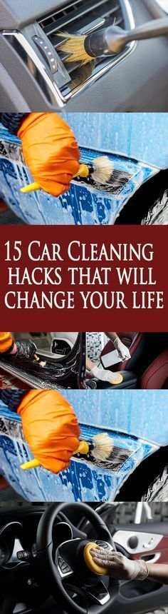 DIY  Cars Hacks :   Illustration   Description   15 Car Cleaning hacks that will change your life    -Read More –