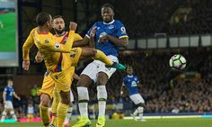 Everton 1-1 Crystal Palace Premier League RESULT Christian Benteke cancels out Romelu Lukaku opener - Daily Mail