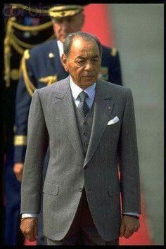 Feu SM le Roi Hassan 2 du Maroc