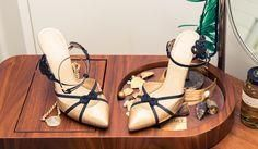 Serafina Sama practi     Serafina Sama practically lives in Charlotte Olympia heels. Can you blame her?  www.thecoveteur.c...
