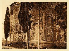 1926 Church Paregoretissa Arta Greece Museum Byzantine - ORIGINAL GRC3