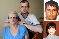 Ann Trainor and her son Stephen McGrath are angry that their Stacey's (bottom right) killer Jason Alder (top right) is preparing for early release