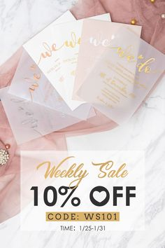 WEEKLY SALE :10% OFF FOR EVERTHING!!! TIME: 1/25-1/31 CODE: WS101