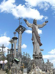 Siauliai , Hill of Crosses , Northern Lithuania. Lietuva