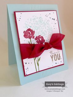 Simply Scoring Tool, Painted Petals, Stampin' Up!, Amy Whelan