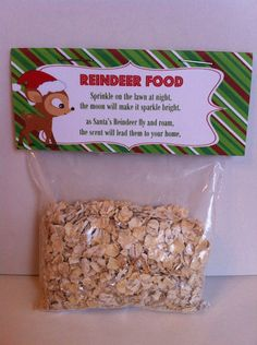 Reindeer Food for Christmas Eve Boxes x
