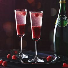 PERRIER Royal Raspberry As extraordinary to see as it is to sip!