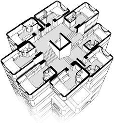 paysagearchitectural: NAGAKIN CAPSULE TOWER Architect : Kisho Kurokawa Location: Tokyo, Japan Start Project : 1970 Project Comple...