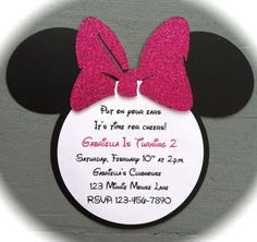 Minnie Mouse Ears Template | Minnie Mouse Bow Template