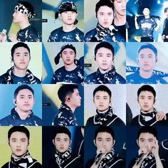 i love head-bobbing #kyungsoo <3