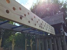 Top Gym Workouts for American Ninja Warrior Competitors Like Jessie Graff attached diy pegboard Kids Ninja Warrior, America Ninja Warrior, Ninja Warrior Course, Backyard Jungle Gym, Backyard Playground, Backyard For Kids, Backyard Obstacle Course, Diy Home Gym, Outdoor Gym