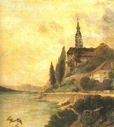 Пейзаж с церковью 1911