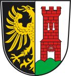 'Coat of Arms of Kempten, Germany' by Tonbbo Framed Art Prints, Canvas Prints, Coat Of Arms, Wall Tapestry, Decorative Throw Pillows, Art Boards, Canvas Wall Art, Germany, Coats