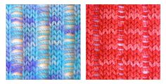 TECHknitting: Curling scarf rescue mission--part two: the drop-column method