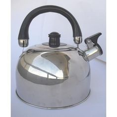 Bene Casa BC-84955 stainless steel tea kettle, 2-quart. by MBR INDUSTRIES