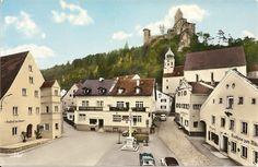 Marktplatz Kipfenberg etwa 1960