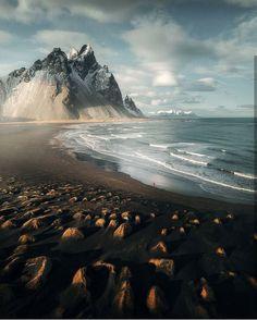 Vestrahorn beach, Iceland