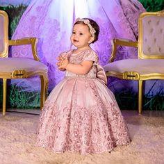 s Clothing Children' Baby Girl Frocks, Kids Frocks, Frocks For Girls, Gowns For Girls, Mom And Baby Dresses, Baby Girl Party Dresses, Little Girl Dresses, 1st Birthday Girl Dress, Birthday Dresses
