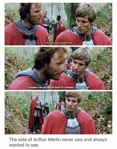 Can we talk about how distraught and upset Arthur looks after Leon tells him tha. - Can we talk about how distraught and upset Arthur looks after Leon tells him that? Merlin Show, Merlin Fandom, Merlin Cast, Lancelot Merlin, Merlin Memes, Merlin Funny, Merlin Quotes, Merlin And Arthur, Movies