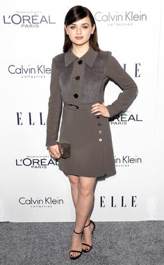 Joey King from 2015 Elle Women in Hollywood Awards  At just 16 years old, the actress certainly has her red carpet look down.